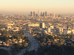 LA Skyline from the Hollywood Bowl Overlook