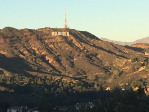 Hollywood Sign from the Hollywood Bowl Overlook