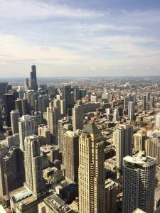 Chicago Day Skyline