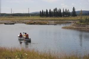 Luke-canoeing